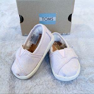 TOMS Alpargata Tiny Slip-on Baby Girl Pink 3